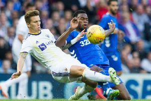 Lassana Coulibaly has impressed for Rangers.