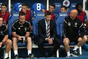 Steven Gerrard has called on protection from officials for his Rangers players.