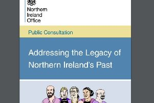 The government says that the aim of the consultation was 'to find the best way to meet the needs of victims and survivors and to help people address the impact of the Troubles. in the areas of information, justice and acknowledgement and help Northern Ireland transition to long term-term peace and stability'
