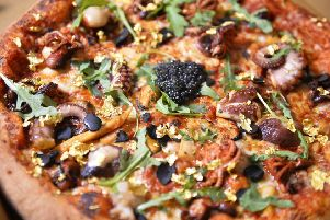 Pizza chain Four Star Pizza has created what it believes to be Northern Ireland's most expensive pizza ahead of this weekend's massive EuroMillions super jackpot.