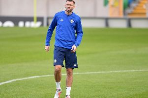 Gareth McAuley has been left out of the Northern Ireland squad for their UEFA Nations League double-header.