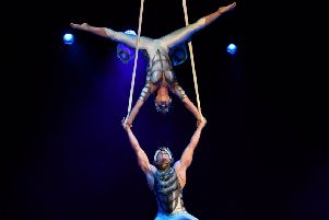 Jaw dropping performances at Cirque du Soleil