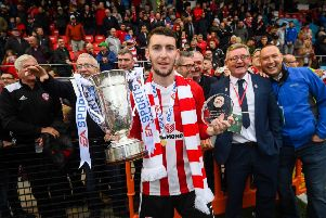 EA Sports Cup Final Man of the Match Jamie McDonagh of Derry City, says he hopes to remain at Derry City should nothing materialise from interest from English clubs.