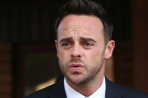 File photo dated 16/04/18 of Ant McPartlin, who has sent a good luck message to Declan Donnelly and Holly Willoughby ahead of the premiere of I'm A Celebrity... Get Me Out Of Here!