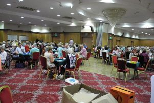Northern Ireland Bridge Union events attract a large number of players