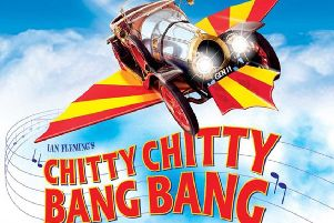Chitty Chitty Bang Bang flies 
