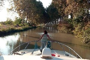 The Canal du Midi in southern France