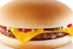 McDonald's is giving away free cheeseburgers.