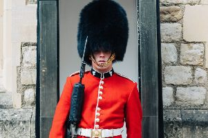 The Changing Of The Guard in London
