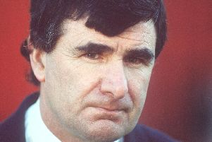 Jim McLaughlin, who managed Derry City to the treble in 1989.