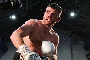 Paddy Gallagher will fight for the WBO European title on February 22