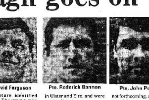 Roderick Bannon was one of three Scottish soldiers murdered by the IRA on March 31, 1976