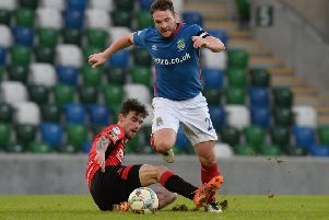 Linfield's Jamie Mulgrew