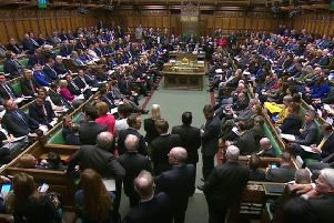 MP's during Prime Minister's Questions in the House of Commons, London last week. Parliament is bitterly divided in multiple ways. Photo: House of Commons/PA Wire