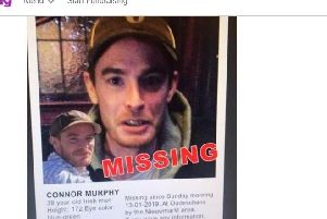 Justgiving campaign for Connor Murphy - now closed