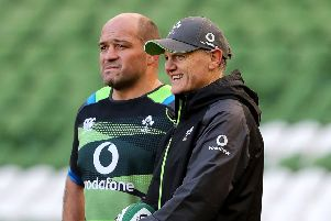 Ireland skipper Rory Best and head coach Joe Schmidt