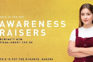 Daniella Timperley from Ballymena has been chosen as one of 12 outstanding young people, from across the world, to take centre stage for The Diana Award's Change_Makers campaign.