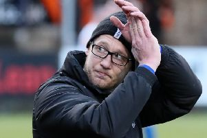 Dungannon Swifts boss Kris Lindsay. Pic by Pacemaker.