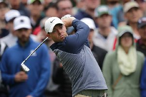 Rory McIlroy of Northern Ireland during the final round of the Players Championship