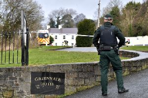 The incident took place at the Greenvale Hotel in Cookstown
