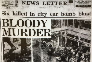 The News Letter front page on March 21, 1972.