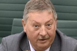 DUP MP Sammy Wilson said 'no bribes would ever be accepted' to back Theresa May's deal