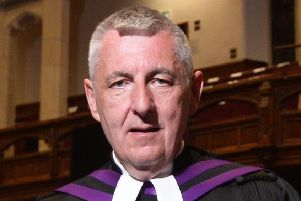 Rev Dr Charles McMullen, moderator of the Presbyterian Church in Ireland