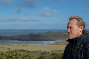 Jerome Flynn said that huge pig farms could ruin Northern Ireland's scenery