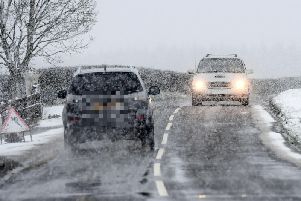 Snow is due in some parts of Northern Ireland over the next 24 hours.