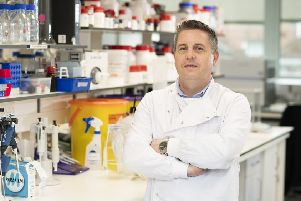 Professor Tim Curtis lead investigator of the study and deputy director at the Wellcome-Wolfson Institute for Experimental Medicine at Queen's University Belfast. Picture: Queen University Belfast/PA Wire