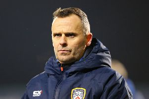 Coleraine manager Rodney McAree.  Photo Alan Weir/Pacemaker Press