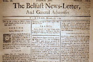 The Belfast News Letter of March 27 1739 (which is April 7 1739 in the modern calendar)