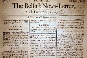 The Belfast News Letter of March 27 1739 (which is April 3 1739 in the modern calendar)