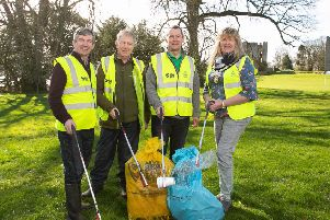 Volunteers get ready for Big Spring Clean in Mid Ulster