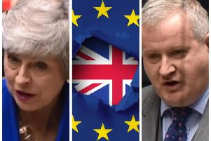Prime Minister Theresa May was answering a question put to her by leader of the S.N.P. in Westminster, Ian Blackford M.P.