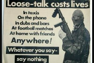 IRA propaganda poster, taken from the University of Ulster's CAIN archive