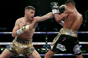 Ryan Burnett on the attack