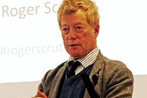 Roger Scruton, the academic and philosopher talking about Green philosophy at the London think tank Policy Exchange in 2012