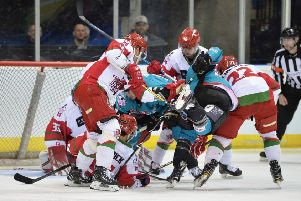 Belfast Giants' Elite League play-off final appearance ended in defeat to defending champions Cardiff Devils.