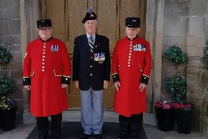 Chelsea Pensioners hosted by Cookstown friend