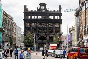 File photo dated 31/08/18 of the Primark store in Belfast city centre, after a fire broke out on Tuesday, August 28. Pic: Liam McBurney/PA Wire