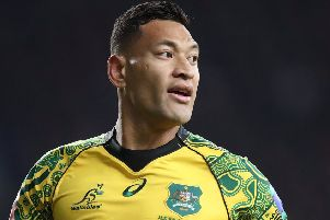 Israel Folau has requested a code of conduct hearing with Rugby Australia