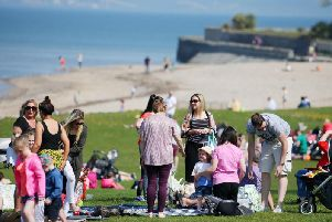 People enjoy the sun at Seapark, Co. Down. ''Picture by Jonathan Porter/PressEye
