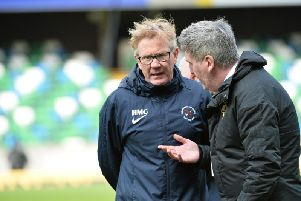 Ballinamallard United boss Harry McConkey