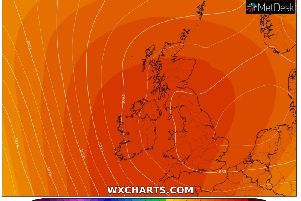N.I. temperatures look set to reach the high teens next week with some places in the North West seeing a sizzling 20C.