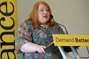Alliance candidate Naomi Long