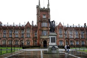 Queen's University, South Belfast. Picture: Diane Magill