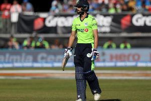 James Shannon caught the eye with a brilliant innings against India last summer