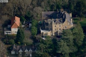Whorlton Hall in Co Durham. Screengrab taken from a 2019 BBC Panorama exposing abuse in the care home