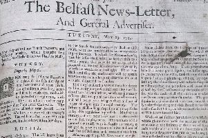 The Belfast News Letter of May 29 1739 (June 9 in the modern calendar):